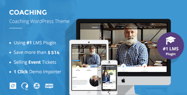 Speaker and Life Coach WordPress Theme