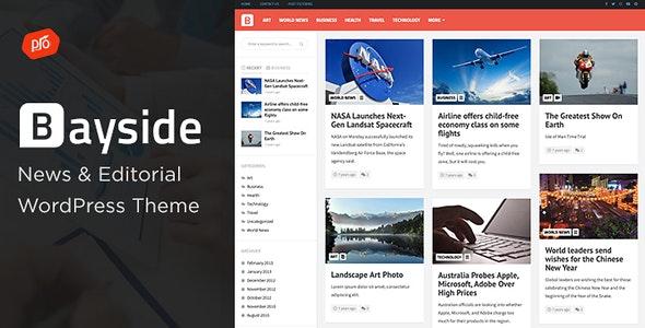 Bayside WordPress Theme free download