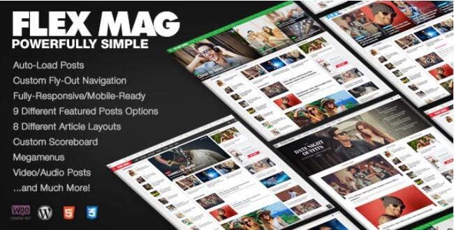 Flex Mag WordPress Theme Free Download