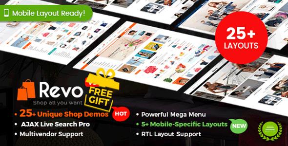 Revo WordPress Theme Nulled free download