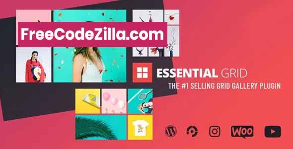 Essential Grid WordPress Plugin Free Download