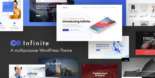Infinite v3.3.1 - Multipurpose WordPress Theme