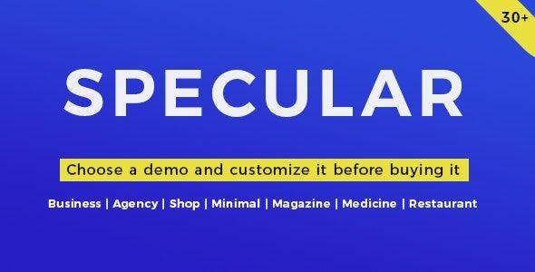 Specular WordPress Theme