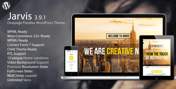 jarvis theme wordpress free download