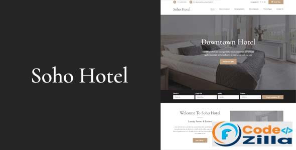 Soho Hotel v4.0.3 – Responsive Hotel Booking WP Theme Nulled