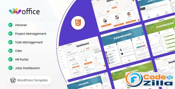 Woffice Nulled v4.0.11 – Intranet/Extranet WordPress Theme