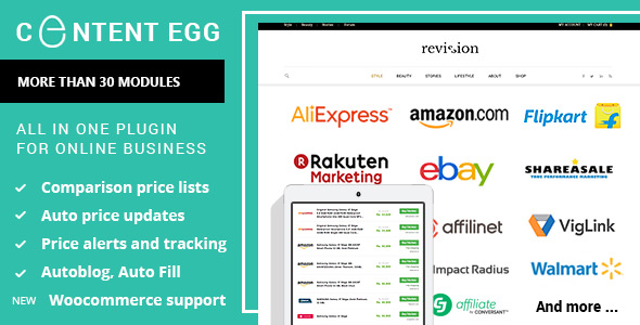 Content Egg Pro WordPress Plugin Nulled Free Download