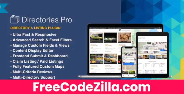 Directories Pro - Directory Plugin for WordPress Free Download