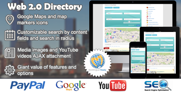 Web 2.0 Directory Plugin for WordPress Nulled free download