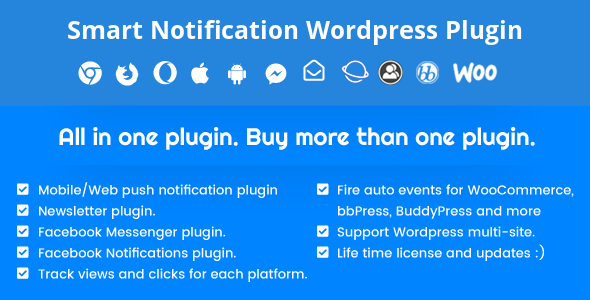 Smart Notification Wordpress Plugin Nulled