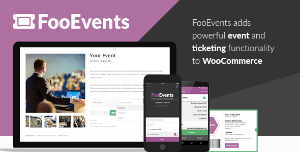 FooEvents for WooCommerce Nulled free download