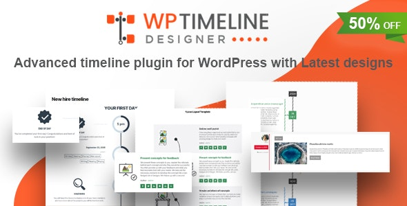 WP Timeline Designer Pro Plugin Free Download