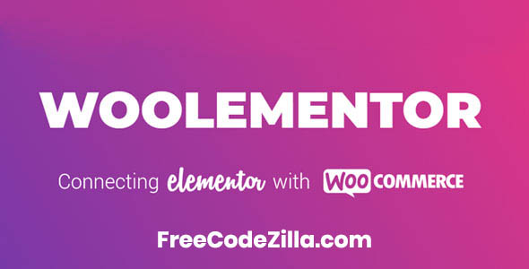 Woolementor Pro Nulled - WooCommerce Elementor Plugin