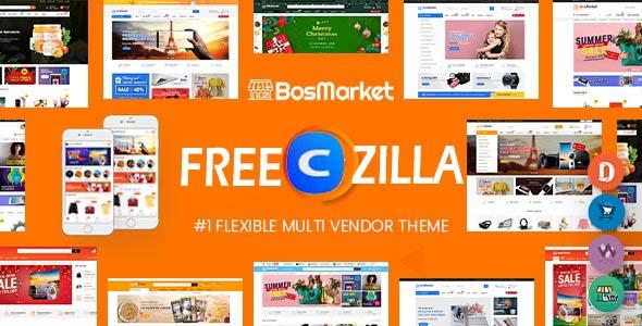 bosmarket wordpress theme free download