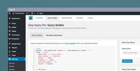Easy Query Pro Nulled - Visual Query Builder Plugin Free Download