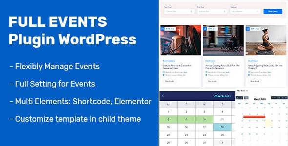 FullEvents Nulled Event Plugin WordPress Free Download