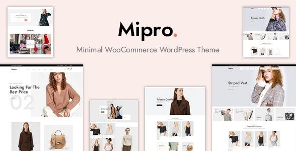 Download Mipro – Minimal WooCommerce WordPress Theme