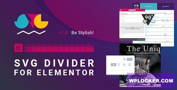 SVG Divider for Elementor Free Downlad