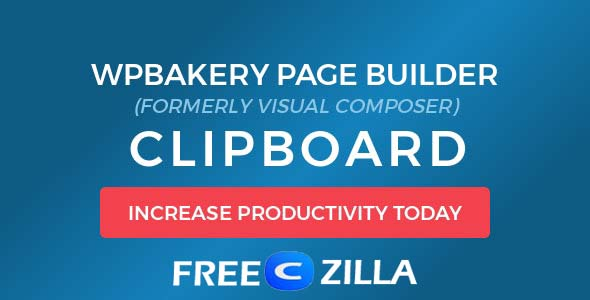 WPBakery Page Builder Clipboard Nulled Free Download