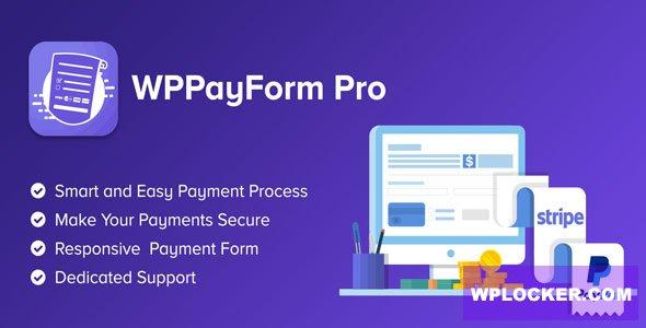 WPPayForm Pro WordPress Plugin Free Download