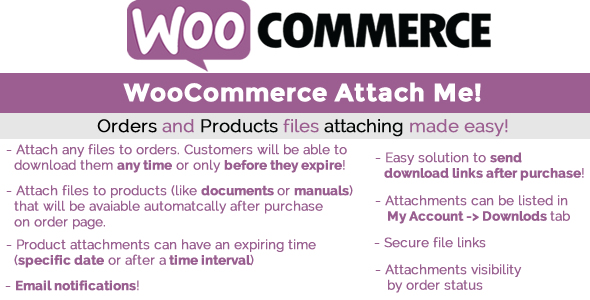 WooCommerce Attach Me Free Download