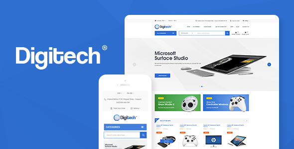 Download Digitech – Technology Theme for WooCommerce