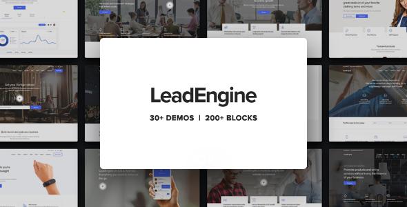 Download FreeLeadEngine Nulled - Multi-Purpose WordPress Theme