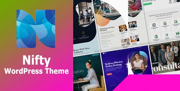 Nifty – Business Consulting WordPress Theme Free Download