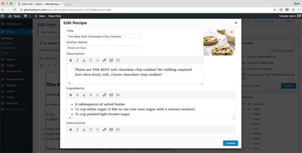 Tasty Recipes WordPress Plugin Free Download