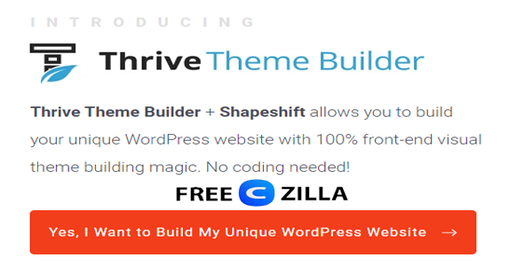 Thrive Theme Builder Free Download