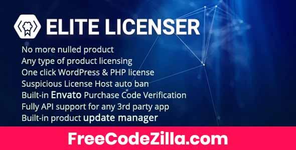 Elite Licenser – Software License Manager for WordPress Free Download