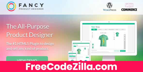 Fancy Product Designer - WooCommerce WordPress Free Download