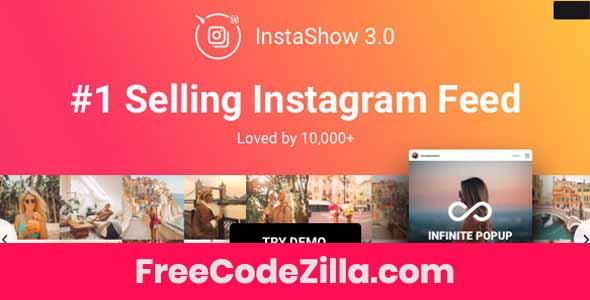 Instagram Feed - WordPress Instagram Gallery Free Download