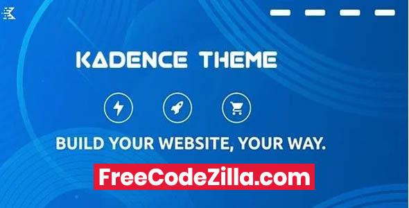 Kadence Blocks Pro Nulled - WordPress Plugin Free Download