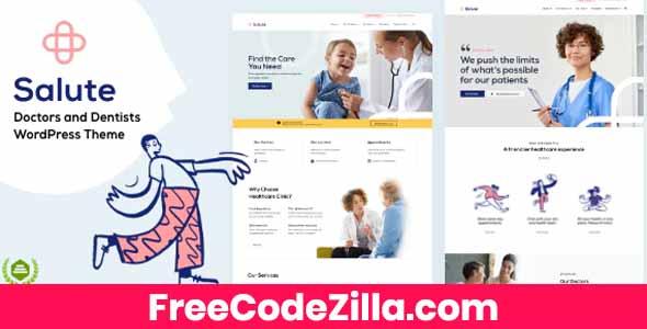 Salute Medical WordPress Theme Free Download