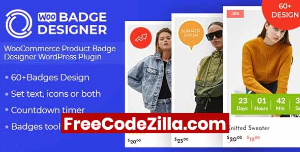 Woo Badge Designer – WooCommerce Product Badge Designer Free Download