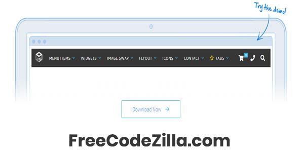 Max Mega Menu Pro WordPress Mega Menu Plugin Free Download