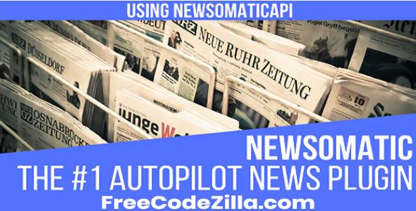 Newsomatic WordPress Plugin Free Download