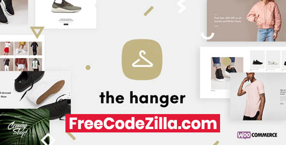 The Hanger - eCommerce WordPress Theme for WooCommerce Free Download