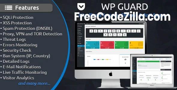 WP Guard v1.8 – Security, Firewall & Anti-Spam plugin for WordPress Free Download