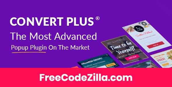 ConvertPlus – Popup Plugin for WordPress Free Download
