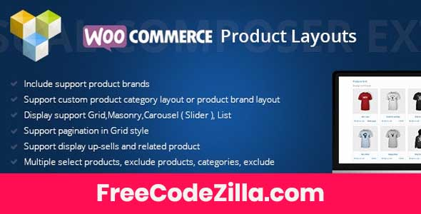 DHWCLayout – Woocommerce Products Layouts Free Download