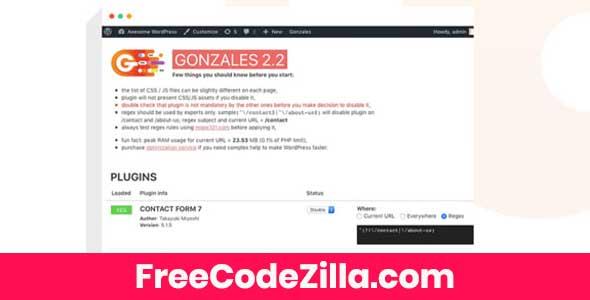 Gonzales - WordPress Site Accelerator Free Download