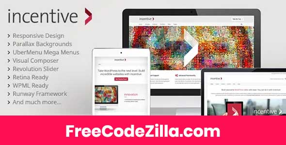 Incentive - Responsive All-Purpose Theme Free Download