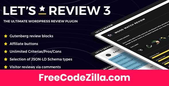 Let's Review WordPress Plugin Free Download