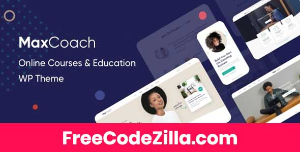 MaxCoach - Online Course & Education WordPress Theme
