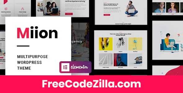 Miion - Multi-Purpose WordPress Theme Free Download