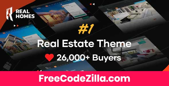 Real Homes - Estate Sale and Rental WordPress Theme Free Download