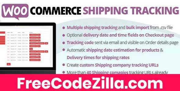Woocommerce Shipping Tracking Nulled