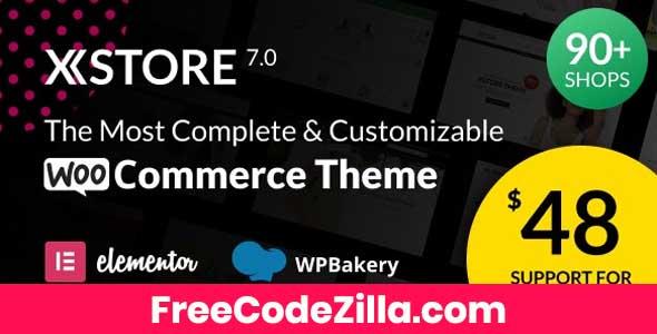 XStore - Responsive WooCommerce Theme Free Download